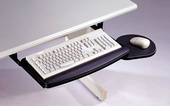Pullout Keyboard Tray with Mouse Pad