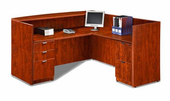 New Reception Desk with Files