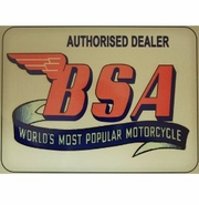 Retro Style BSA Sign