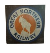 Retro Style Great Northern Sign