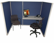 Salesman cubicle