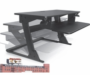 Sit Stand UP Desk Monitor Riser