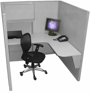 5x5 Tall Wall Space Saver Cubicles
