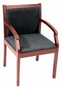 Upholstered Wood Guest Chair S3-67