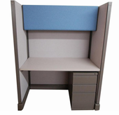 Used - 48x48 Acoustical Call Cubicle