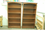 Used 5 shelf Wood Bookcase / Display