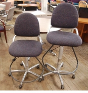 Used Allsteel Drafting Stool