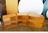Used Children's Wood Bookcases.
