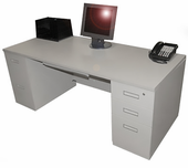 Used 30x60 Double Ped Desk