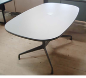 Used Herman Miller Boatshape Table