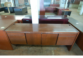 Used Kimball wood credenza 18x72
