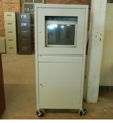 Used Security Computer Cabinet