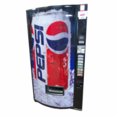 Used Soda Vending Machine