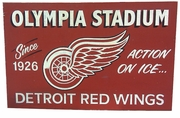 Vintage style Red Wings Sign