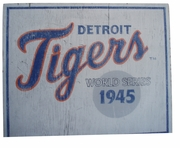 Vintage style Tigers sign