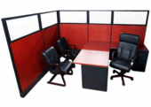 Custom Executive Cubicle