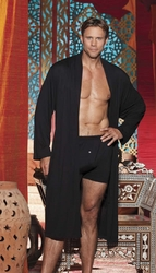30132 Mens Rayon and Spandex Robe M/L or L/XL