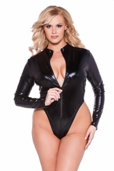 41302XK Plus Size Naughty Kitten Bodysuit by Allure