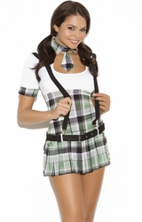 9081 4pc Sexy Prep School Priss Costume by Elegant Moments
