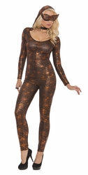9088 Black Widow 2pc Jumpsuit Adult Costume by Elegant Moments