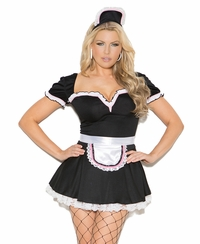 9132 Sexy Maid to Please 3pc Adult Costume by Elegant Moments