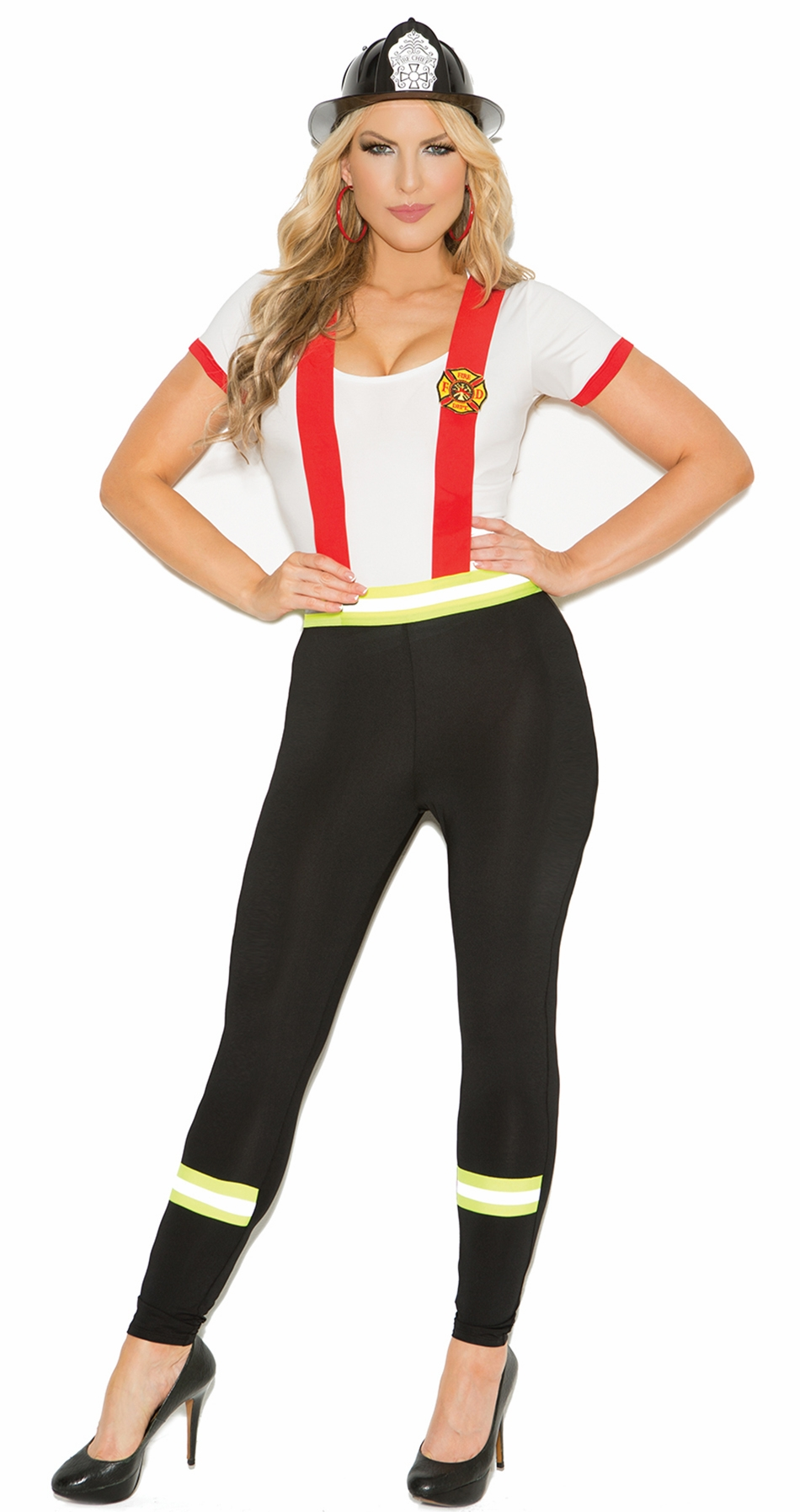 9133 Sexy Light My Fire Hero Adult Costume by Elegant Moments