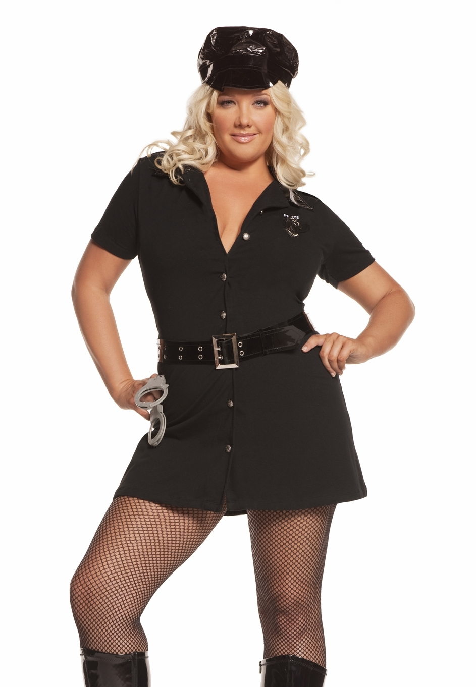 9463x Plus Size Female Officer Arrest Me Cop Costume by Elegant Moments