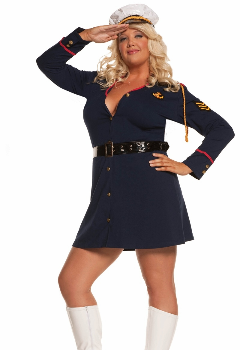 9565x Plus Size Gentlemens Officer Military Costume