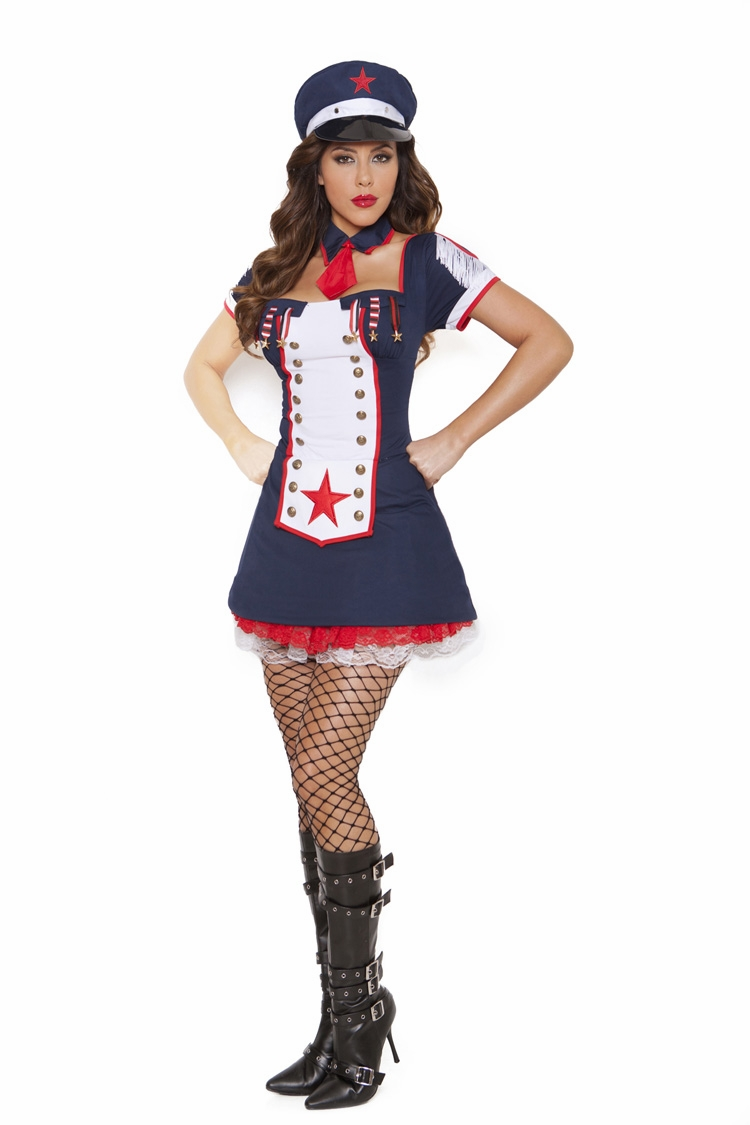 9849 Naval Knockout - Sexy Sailor Light up Costume by Elegant Moments S-L