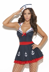 9967 2pc Sexy Sailor Adult Costume by Elegant Moments