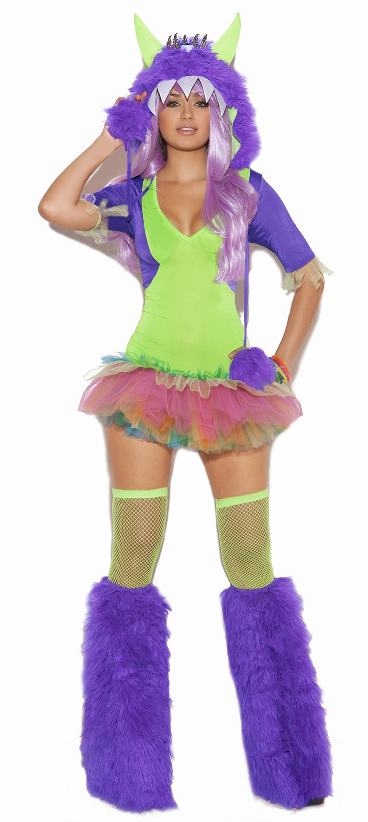 9981 One Eyed Monster 2pc Costume by Elegant Moments