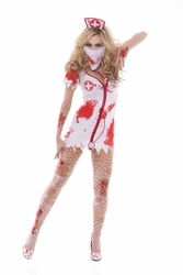 9855 Blood Bath Zombie Nurse Betty Costume by Elegant Moments