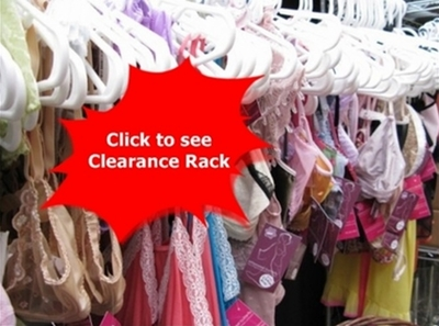 Clearance Rack 15%  to 75% off Orginal Price