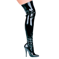 "511-Ally 5"" Heel Thigh High Stretch Boot by Ellie"