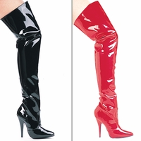 "Susie 5"" Heel Thigh High Boots by Ellie Shoes Sizes 5-14"