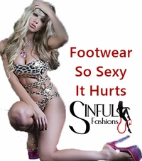 Footwear-Shoes, Boots, Exotic Heels, Burlesque & Bettie Paige