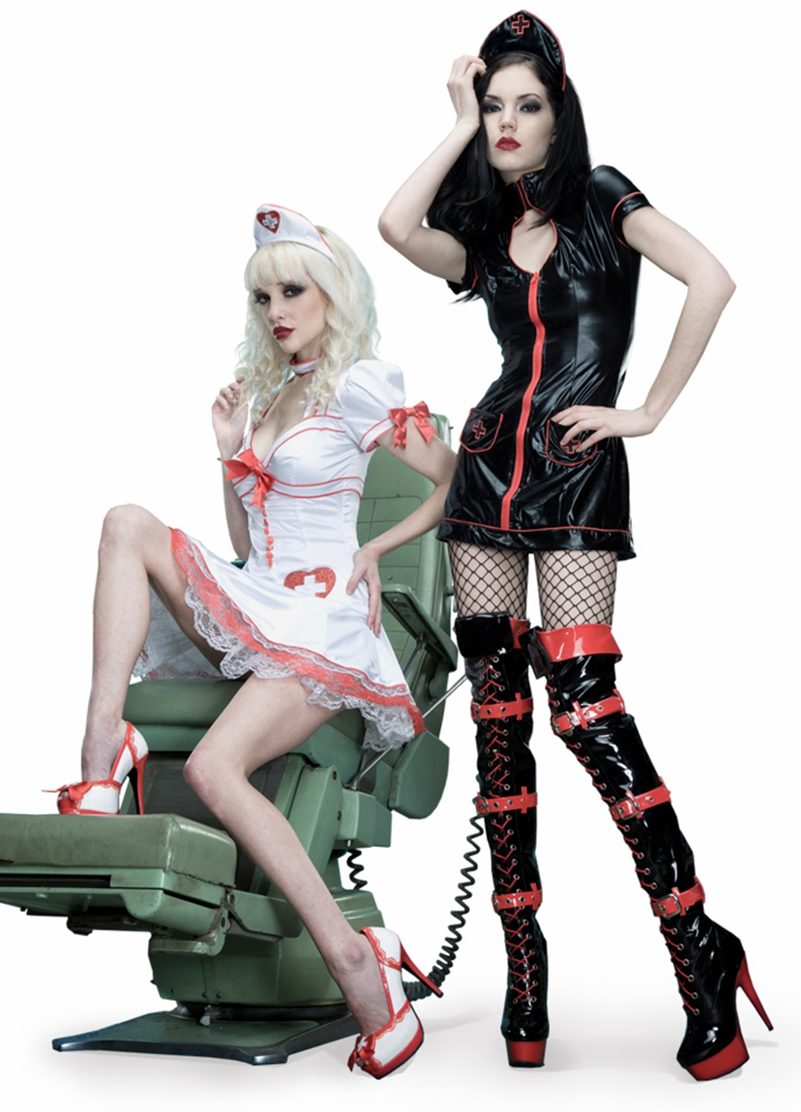 Medical Nurse  Halloween and Fantasy Costume Shoes and Boots