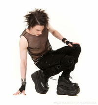Men's Platform Shoes and Boots by Demonia