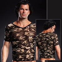Mens Sexy Lingerie Shirt Tops and Tanks by Sinful Fashions