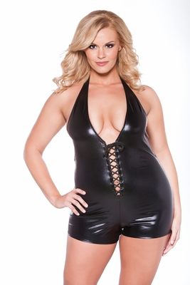 Plus Size Wet Look Clothing by Kitten