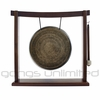 """11.5"""" Engraved Nepalese Gong on the Woodsonic Gong Stand - FREE SHIPPING - SOLD OUT"""
