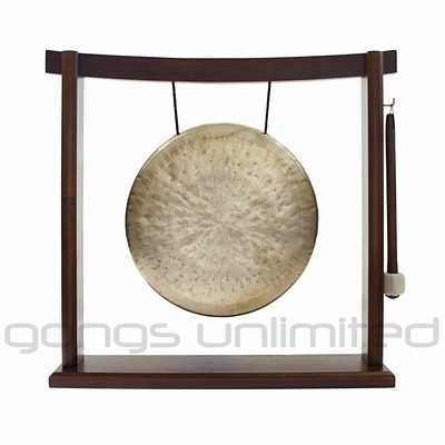 """11"""" Che Sui Gong on the Woodsonic Gong Stand - FREE SHIPPING"""