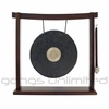 "10"" Dark Star Gong on the Woodsonic Gong Stand - FREE SHIPPING"