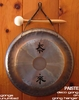 "10"" Paiste Deco Gong on Paiste Wall Hanger (DG05410) - FREE SHIPPING"