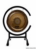 """10"""" Paiste Accent Gong (AG30161) on High C Gong Stand - FREE SHIPPING"""