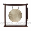 "10"" Pasi Gong on the Woodsonic Gong Stand - FREE SHIPPING"