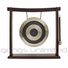 "10"" Subatomic Gong on the Woodsonic Gong Stand - FREE SHIPPING"