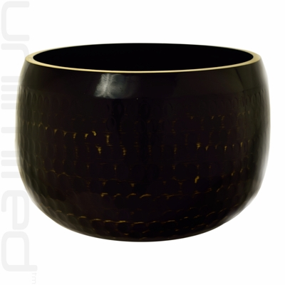 "11"" Black Ching Bowl (Temple Bowl Gong) - SOLD OUT"