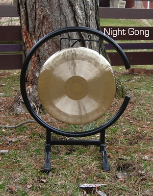 """11"""" Night Gong on High C Gong Stand - FREE SHIPPING"""
