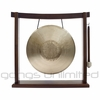 "11"" Tiger Gong (Opera Style - Pitch Bend Gong) on the Woodsonic Gong Stand - FREE SHIPPING"